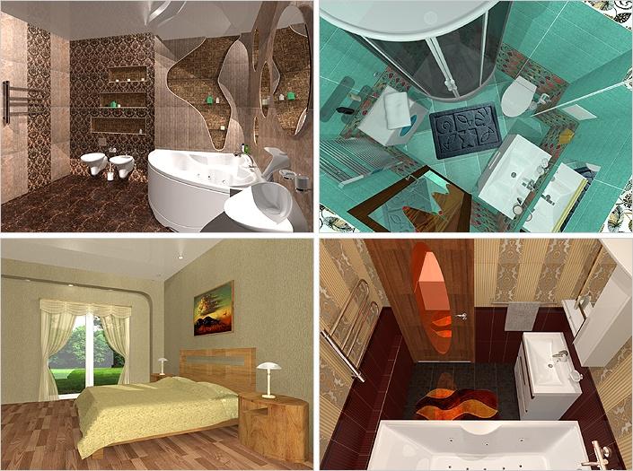 Варианты дизайн-проектов :: Магазин керамической плитки Mercado