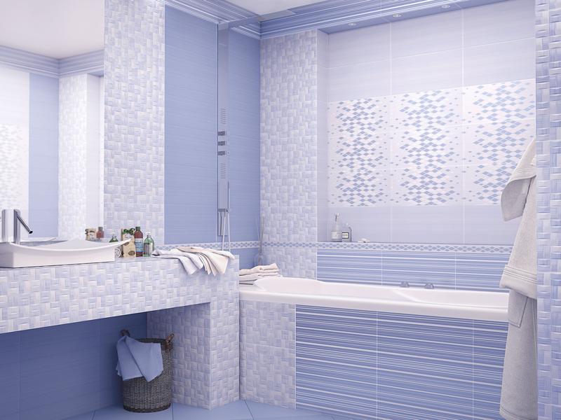 Blik Azul : Коллекция керамической плитки AltaCera фото в интерьере : Интернет магазин Mercado