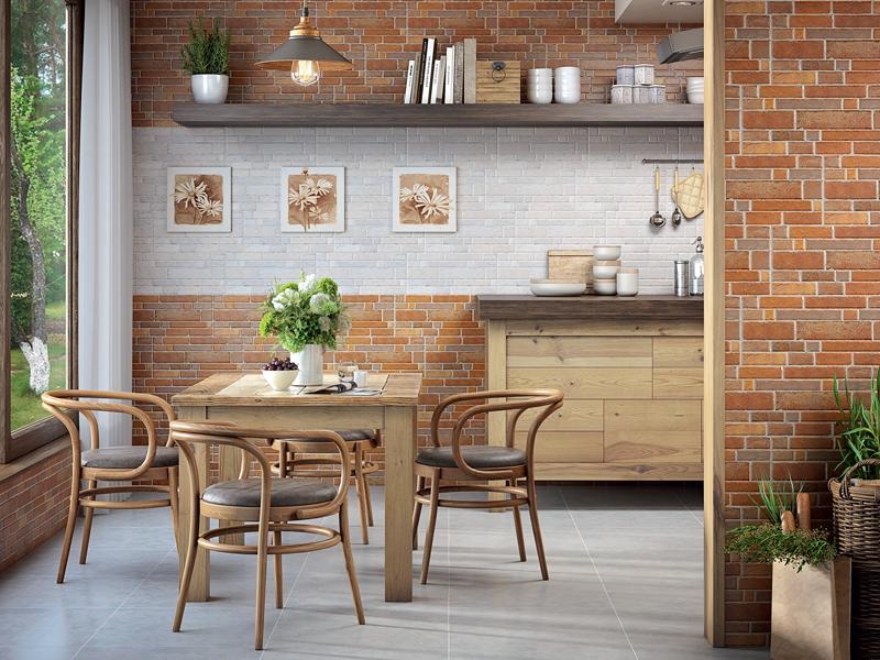 Brick : Коллекция керамической плитки Intercerama фото в интерьере : Интернет магазин Mercado