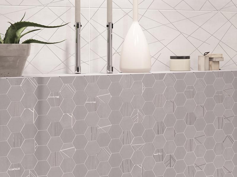 Baffin Gray : Коллекция керамической плитки Delacora фото в интерьере : Интернет магазин Mercado