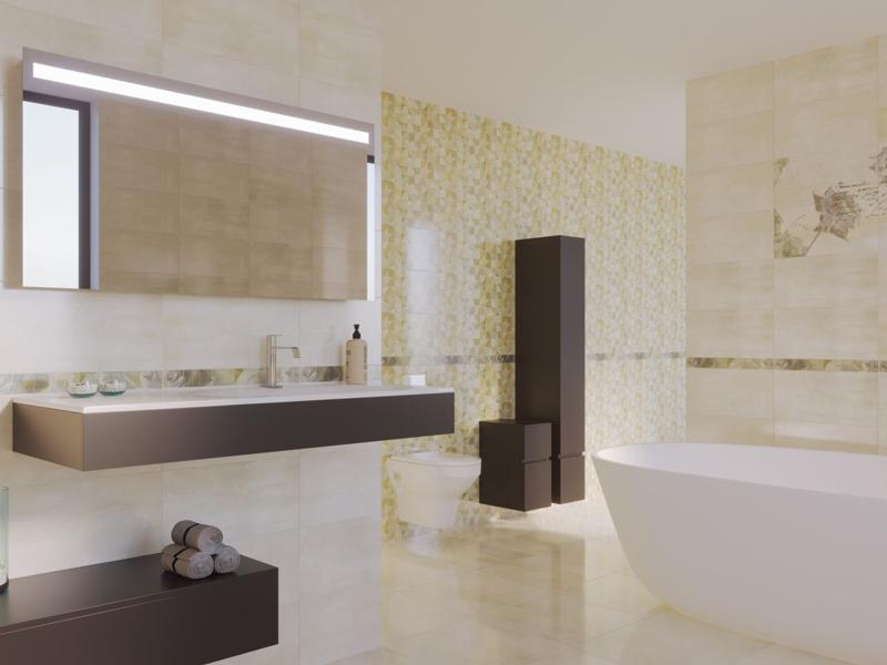 Floretta : Коллекция керамической плитки Global Tile фото в интерьере : Интернет магазин Mercado