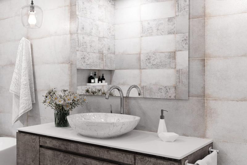 Terrazzo : Коллекция керамической плитки Global Tile фото в интерьере : Интернет магазин Mercado