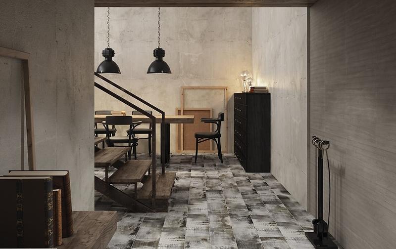 Shabbywood : Коллекция керамической плитки Cersanit фото в интерьере : Интернет магазин Mercado