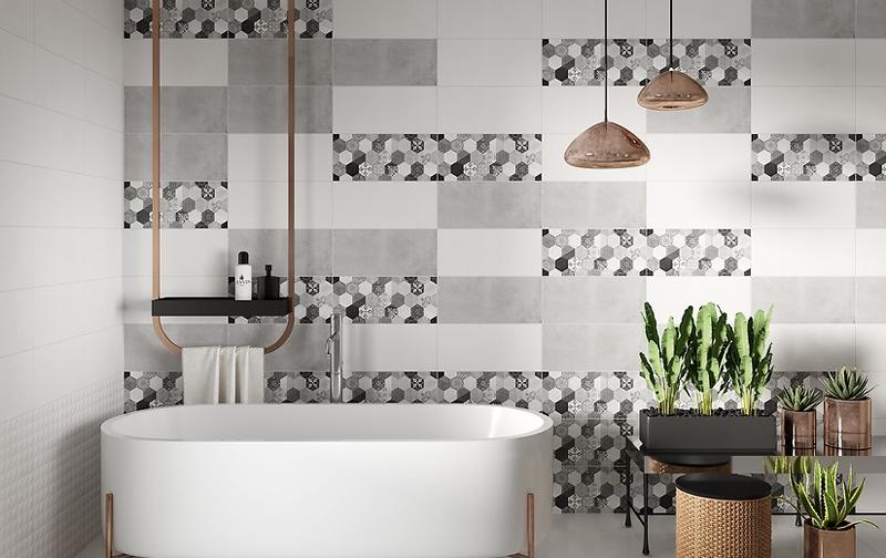 Kosmo : Коллекция керамической плитки Cersanit фото в интерьере : Интернет магазин Mercado