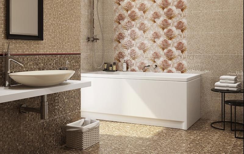 Royal Garden : Коллекция керамической плитки Cersanit фото в интерьере : Интернет магазин Mercado