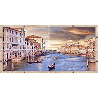 Венеция комплект из 4-х 1000х500 Декор панно : Нефрит-Керамика : Mercado