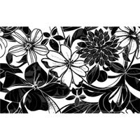 ЖАКЛИН черный 400х250 Декор : Нефрит-Керамика : Mercado