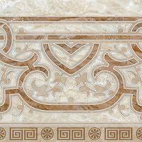 ГЕРМЕС коричневый узоры 300х300 Плитка напольная : Нефрит-Керамика : Mercado