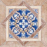 АПЕННИНЫ бежевый узор 385х385 Плитка напольная : Нефрит-Керамика : Mercado