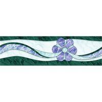 ДВОРЦОВАЯ зеленый правый 300х200 Декор : Нефрит-Керамика : Mercado