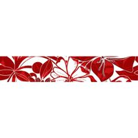 ЖАКЛИН красный 400х75 Бордюр : Нефрит-Керамика : Mercado