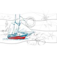 OCEAN М40331 шхуна 250х400 Декор : GoldenTile : mercado