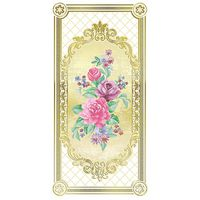 Воспоминание белый цветы 2 500х250 Декор : 1721 Ceramique Imperiale : Mercado