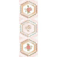 Агатовый фон розовый 8 600х200 Декор : 1721 Ceramique Imperiale : Mercado