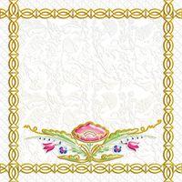 Замоскворечье белый 1 200х200 Декор : 1721 Ceramique Imperiale : Mercado