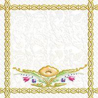 Замоскворечье белый 2 200х200 Декор : 1721 Ceramique Imperiale : Mercado