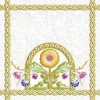 Замоскворечье белый 3 200х200 Декор : 1721 Ceramique Imperiale : Mercado