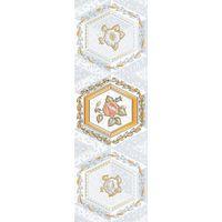 Меланитовый фон серый 7 600х200 Декор : 1721 Ceramique Imperiale : Mercado