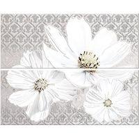 Sfumato Grey Floret из 2 шт 505х402 Декор панно : Azori : Mercado