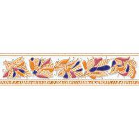 Фантастические бабочки светлый 200х50 Бордюр : Нефрит-Керамика (Nefrit Ceramics) : mercado