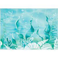 Лазурь бирюзовый 05 морское дно 250х350 Декор : БерезаКерамика : mercado