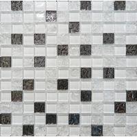 Glass White Mosaic 300х300 Декор : Altacera : mercado
