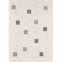 Квадро белый мозаика 250х350 Декор : БерезаКерамика : mercado
