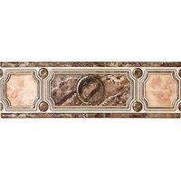 Pietra коричневый 230х75 Бордюр широкий : InterCerama (ИнтерКерама) : mercado