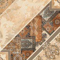 Carpets коричневый декор 430х430 Плитка напольная : InterCerama (ИнтерКерама) : mercado