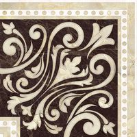 Classic коричневый 200х200 Декор напольный : Global Tile : Mercado