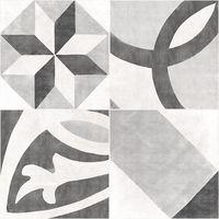 Apeks серый декорированный 420x420 Керамогранит : Cersanit : Mercado