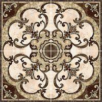 Emperador коричневый 860х860 Декор-панно напольное из 4 шт : InterCerama (ИнтерКерама) : mercado