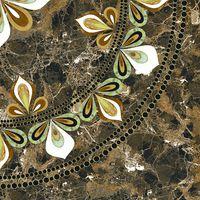 Ingir многоцветный 420x420 Декор напольный : Cersanit : Mercado