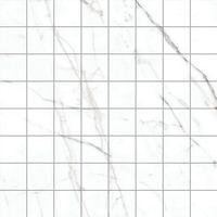 Black & White White 300х300 Мозаика керамическая