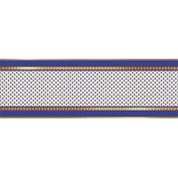 Кобальтовая сетка белый 600х200 Плитка облицовочная полосы : 1721 Ceramique Imperiale : Mercado