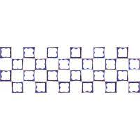 Русский лубок синий 2 600х200 Плитка облицовочная : 1721 Ceramique Imperiale : Mercado