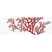 Коралл белый 5 600х200 Декор : 1721 Ceramique Imperiale : Mercado