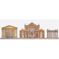Кобальтовая сетка 4 600*200 Декор : 1721 Ceramique Imperiale : Mercado