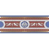 Рафаэлевский бордовый 250х90 Бордюр : 1721 Ceramique Imperiale : Mercado