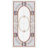 Рафаэлевский светлый 1000х500 Декор : 1721 Ceramique Imperiale : Mercado