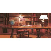 ТОСКАНА коричневый стол 500х250 Декор : Нефрит-Керамика : Mercado