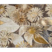 Foresta brown panno 01 из 2х шт 600х500 Декор-панно : Gracia Ceramica : mercado