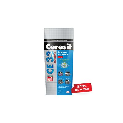 Ceresit СЕ3301 Затирка Белый до 6мм 5кг :: Ceresit :: mercado-spb