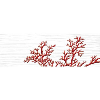 Коралл белый 1 600х200 Декор : 1721 Ceramique Imperiale : Mercado